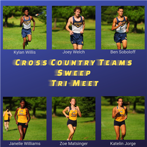 Cross Country Teams Sweep Tri Meet